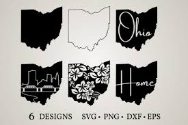 All clipart images are guaranteed to be free. 1 Ohio Silhouette Designs Graphics