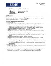 Lpn Resume Sample Long Term Care Graduate Template New With No