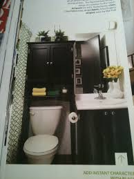 Black Over The Toilet Cabinet Modern Bedroom Design Ideas