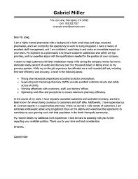 Pharmacy School Cover Letter Example Zonazoom Com