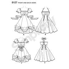 Sewing Patterns For Dresses Unique Simplicity Pattern 48 Women's Lolita And Rockabilly Dresses New