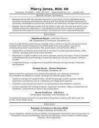018 New Grad Nursing Resume Templates Template Graduate Nurse Best