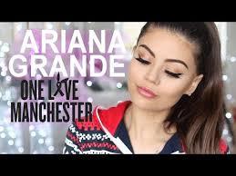 ariana grande one love concert get the look makeup tutorial