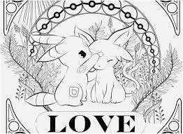 Eeveelutions Coloring Pages Stunning Great 40 Incredible Poke 23622