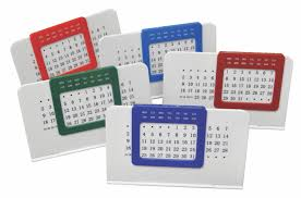 perpetual desk calendar ideas