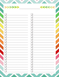 To Do Checklist Template Home Management Binder Blank List Binder Management And Book Lists 11