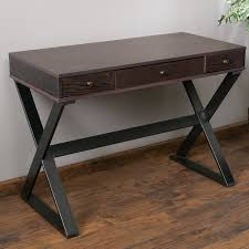 beverly writing desk with 3 drawers