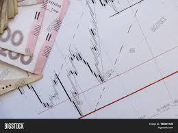 Stock Market Chart On Image Photo Free Trial Bigstock