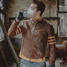 mens motorcycle real leather jacket genuine leather jacket pigskin slim biker jackets winter coat men 3a 4t