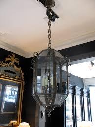 a spanish hanging lantern circa 1900