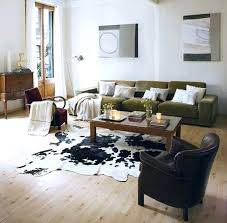 black cowhide rug accessories faux cowhide rug with black armchair and brown sofa pertaining to incredible faux cowhide rug black and white cowhide rug ikea