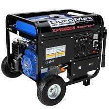 Duromax 10 000 Watt Gasoline Powered Electric Start Portable