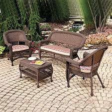 wilson and fisher wicker patio furniture