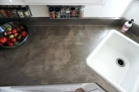 concrete overlay countertop concrete counters over laminate using feather finish concrete skim coat diy concrete countertop