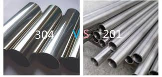 how to distinguish 201 and 304 steel
