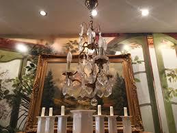 Antiker Lüster Leuchter Kristall Deckenlampe Lampe Leuchte