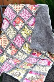 Baby Quilt Kits Boys Rag Quilt Craft Tutorial Ideas Beginner Easy ... & baby quilt kits boys rag quilt craft tutorial ideas beginner easy sew  handmade quilting sewing machines Adamdwight.com