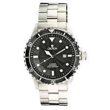 croton men s black dial rugged automatic diver s watch croton men s black dial rugged automatic diver s watch