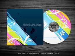Beautiful Stylish Cd Cover Design Vector Free Download