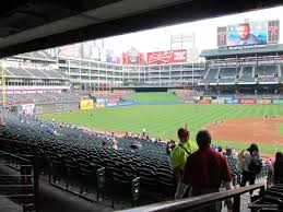 Texas Rangers Seating Chart With Seat Numbers Texas Rangers Globe Life Park Seating Chart Interactive
