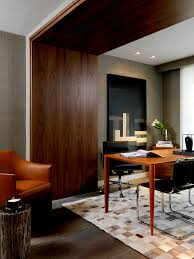 wooden arch designs home office contemporary with black task chair gray wallcovering wall panelling