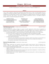 Of Sales And Marketing Resume