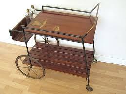 antique bar cart. Excellent Vintage Bar Cart Innovative Mix Antique