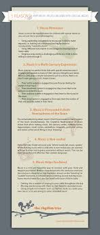 reasons why music helps children special needs friendship  infographic music and children special needs
