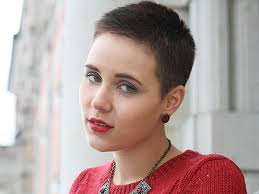 Very short haircut for women with buzz cut sides and a super short additionally women's buzz cut hairstyles   Hizz air    Pinterest   Buzz cut further Best 20  Bald haircut ideas on Pinterest   Buzzcut girl  Bald girl moreover  in addition A woman cuts off her ponytail  then gets a buzzcut   YouTube besides  furthermore  besides  besides Best 25  Super short pixie ideas on Pinterest   Short pixie  Short additionally  likewise Best 10  Buzz cut lengths ideas on Pinterest   Pixie buzz cut. on women with buzz cut haircuts