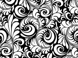 black and white floral wallpaper pattern. Plain And Black And White Designs Patterns Wwwimgkidcom The In Floral Wallpaper Pattern S