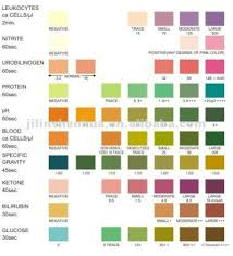 Multistix Color Chart Siemens Urine Test Strip Color Chart Best Picture Of Chart