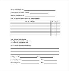Employee Write Up Form 4 Writing Sample Resume Best