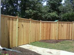 Privacy Fence with Ornamental Toppers