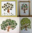 Вышивание денежные деревья
