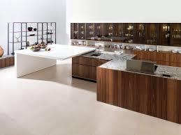 Porcelanosa Kitchen Cabinets Contemporary Kitchen Walnut Oak Wood Veneer Evolution