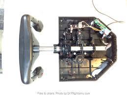 how to disassemble the saitek pro flight yoke