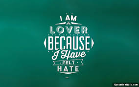 I Am A Lover Love Wallpaper for Mobile ...