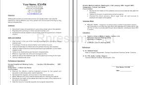 Sample Resume Of Icu Staff Nurse Best Of ICU RN Resume Sample Httpwwwrnresumenetcheckourrnresume