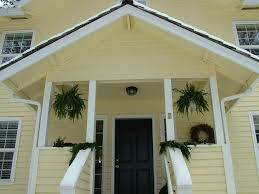 white front door yellow house. Yellow Siding And Front Door Colors | My Old House, I Love White House R