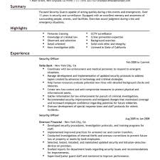 Security Officer Resume Sample Cruise Ship Security Officer Resume 60 Sample hashtagbeardme 11