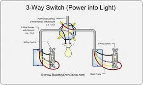 3 way switch diagram power into light diy 3 way switch diagram power into light