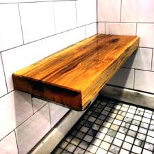 mesmerizing teak shower benches on great deal belham living corner bench with shelf