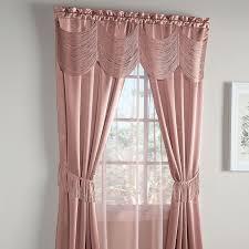 halley 6 pc one rod curtain set