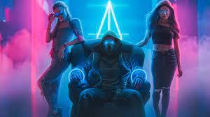 Vaporwave Digital Artwork Neon Lights ...