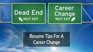 Resume Tips For Career Change Resume Tips For A Career Change Nexgoal