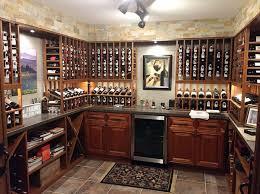 vint custom wine racks for a small wine room in columbus ohio