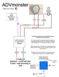 recommended wiring diagram led controller advmonster image 1
