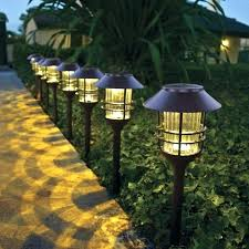 solar powered patio lights solar powered patio lights for 8 solar led large pathway lights 8