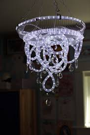 rope light chandelier rope best rope lighting ideas on landscaping model 8