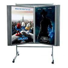 Multiple Poster Display Stands Buy Multi Panel Poster Display Cheap Poster Racks Displays 19